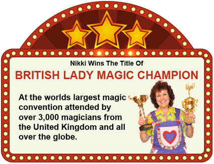 Award Winning Female Magician