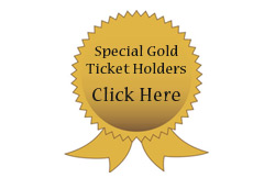 Charlie The Clown Special Gold Ticket Holders