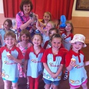 Nikki Performs Her Comedy Magic Show For A Rainbow Group In Gosport