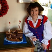 Amazing Birthday Cake At This Magical Pirate Party In Stubbington