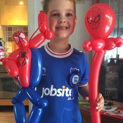 Birthday Party For A Portsmouth And Spiderman Fan In Bedhampton.